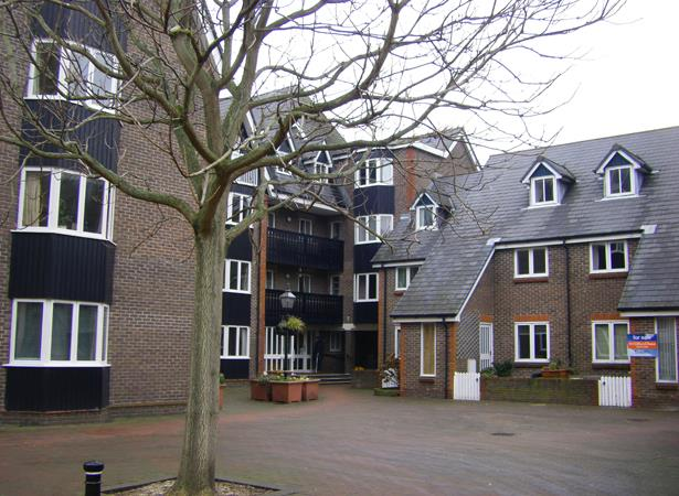St Thomas Court, Cliffe High Street Lewes